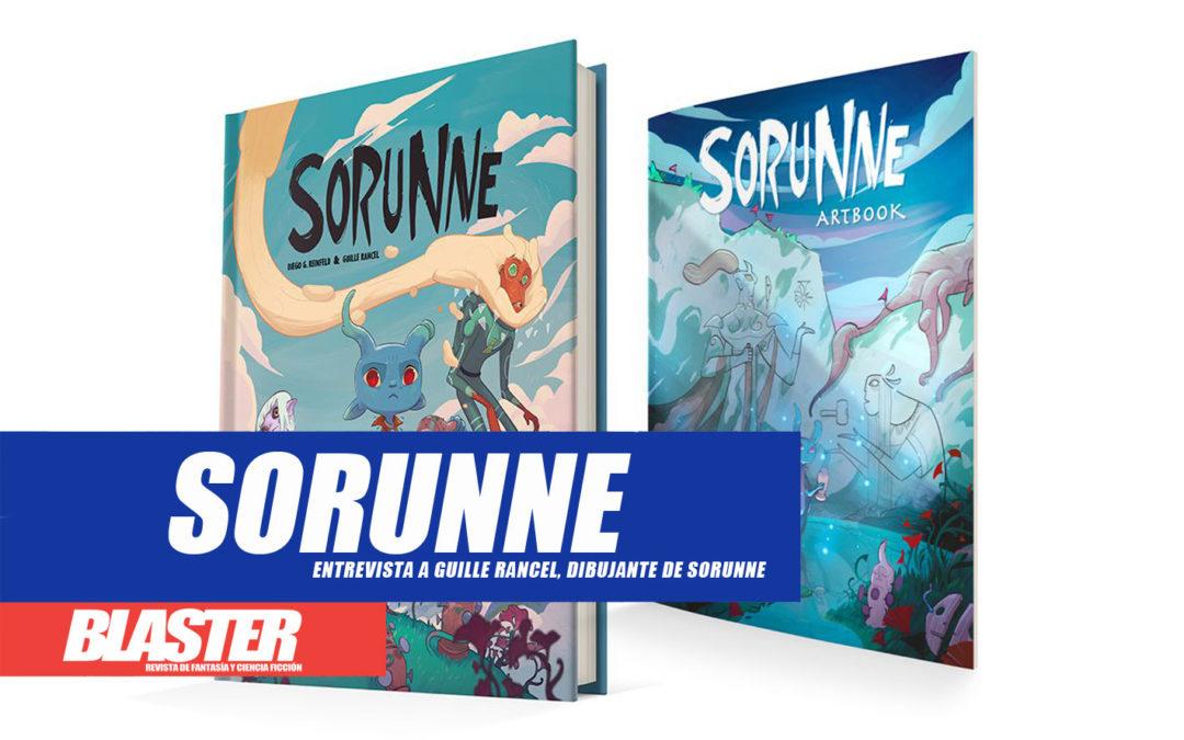Hablamos con Guille Rancel, dibujante de Sorunne