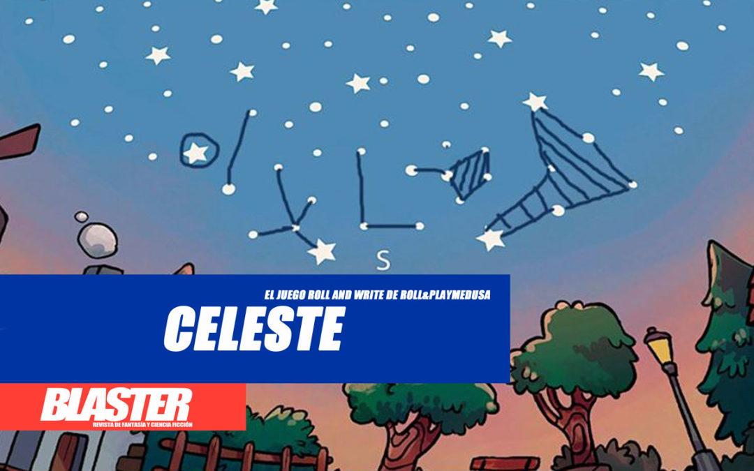 «Celeste», el juego roll and write de Roll&Playmedusa