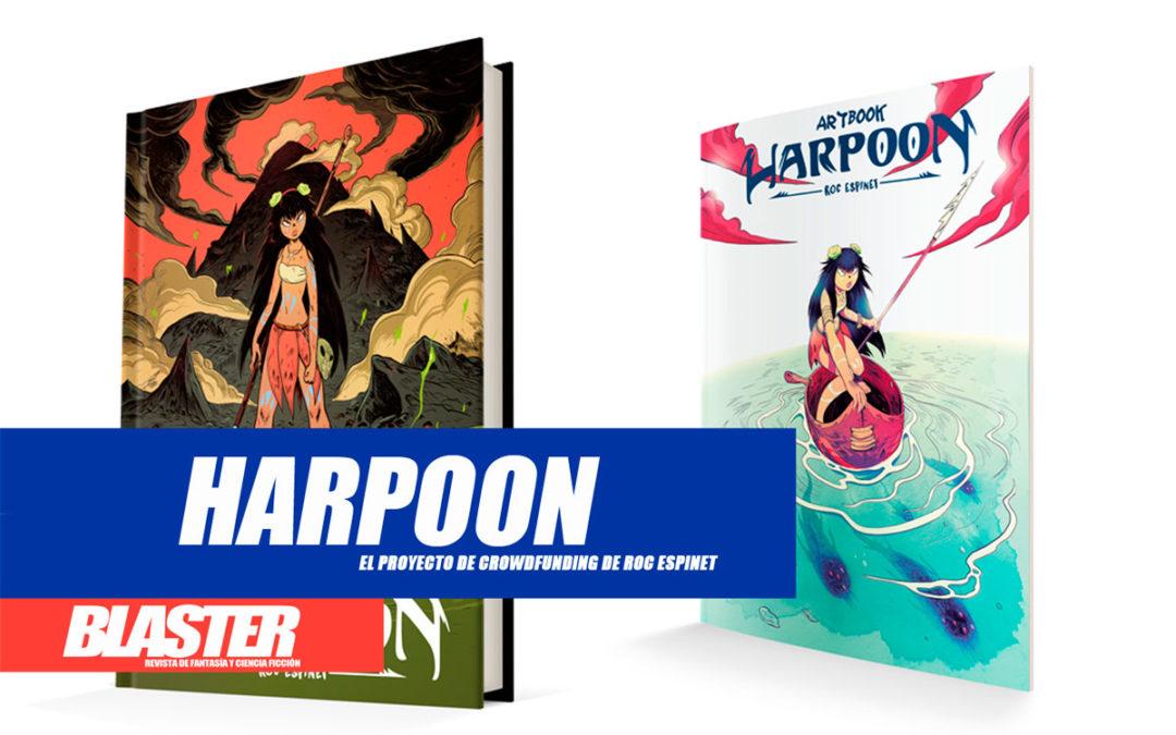 «Harpoon», el proyecto de crowdfunding de Roc Espinet