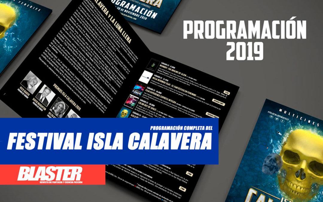 ¡Programación del III Festival de Cine Fantástico de Canarias Isla Calavera!