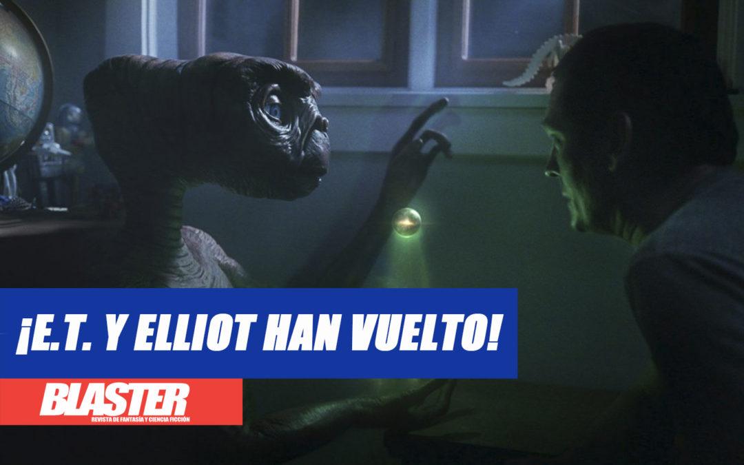 ¡E.T. y Elliot han vuelto!