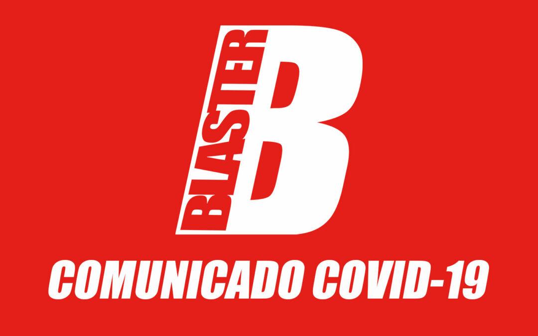 Comunicado de la revista Blaster relacionado con la Fase 1
