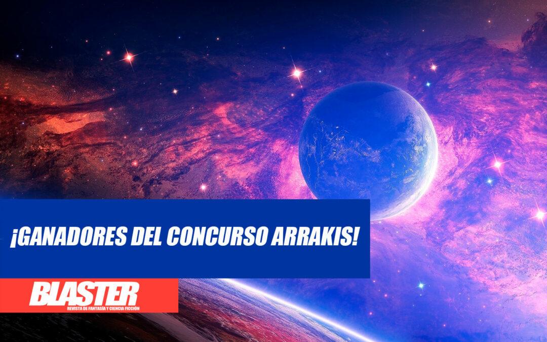 ¡Ganadores del Concurso Arrakis de space opera!